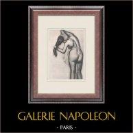 Female Nude - Femme à la Toilette (Edgar Degas)