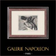 Desnudo Femenino - Femme Nue (Edgar Degas)