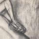 DETALLES 03   Desnudo Femenino - Le Bain (Edgar Degas)