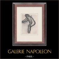 Nu Féminin - Etude de Nu (Edgar Degas)