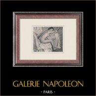 Nudo Femminile - Femme s'Essuyant (Edgar Degas)