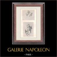 Cavaleiros - Jóquei (Edgar Degas)