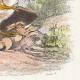 DÉTAILS 04   Fables de La Fontaine - L'Aigle et l'Escargot
