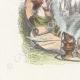DÉTAILS 02 | Fables de La Fontaine - Simonide Préserve par les Dieux