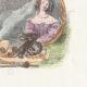 DÉTAILS 04 | Fables de La Fontaine - Simonide Préserve par les Dieux