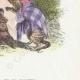 DÉTAILS 04 | Fables de La Fontaine - L'Aigle, la Laie et la Chatte