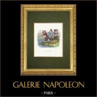 Fables of La Fontaine - La Femme Noyée