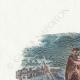 DÉTAILS 01   Fables de La Fontaine - Le Singe et le Dauphin
