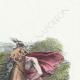 DÉTAILS 03 | Fables de La Fontaine - Le Cheval s'étant Voulu Venger du Cerf