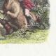 DÉTAILS 04 | Fables de La Fontaine - Le Cheval s'étant Voulu Venger du Cerf