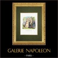 Fables of La Fontaine - Le Satyre et le Passant