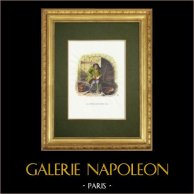 La Fontaines Fabeln - La Poule aux Oeufs d'Or