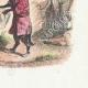 DÉTAILS 04 | Fables de La Fontaine - Le Lion Malade et le Renard