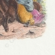 DÉTAILS 04   Fables de La Fontaine - Le Cheval et l'Ane
