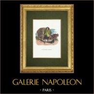 Fables of La Fontaine - Le Charretier Embourbé