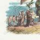 DÉTAILS 02   Fables de La Fontaine - Les Vautours et les Pigeons