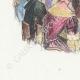DÉTAILS 02 | Fables de La Fontaine - Le Rieur et les Poissons