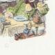 DÉTAILS 04 | Fables de La Fontaine - Le Rieur et les Poissons