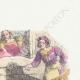 DÉTAILS 03   Fables de La Fontaine - Le Faucon et le Chapon