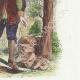 DÉTAILS 04   Fables de La Fontaine - L'Enfouisseur et son Compère