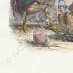 DÉTAILS 02 | Fables de La Fontaine - La Perdrix et les Coqs