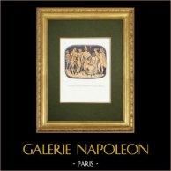 Fables of La Fontaine - Les Dieux Voulant Instruire un Fils de Jupiter