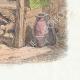 DÉTAILS 04 | Fables de La Fontaine - Le Vieux Chat et la Jeune Souris