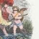 DÉTAILS 04   Fables de La Fontaine - L'Amour et la Folie