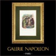 Fables of La Fontaine - Le Juge Arbitre, l'Hospitalier et le Solitaire