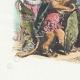 DÉTAILS 02   Fables de La Fontaine - Le Lion s'en Allant en Guerre