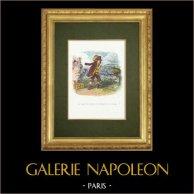 Fables of La Fontaine - La Chauve Souris, le Buisson et le Canard