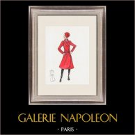 Fashion Drawing - France - Paris - Years 1950/1960 3/47