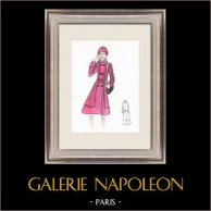 Fashion Drawing - France - Paris - Years 1950/1960 7/47
