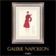 Fashion Drawing - France - Paris - Years 1950/1960 13/47