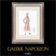 Modezeichnung - Frankreich - Paris - 1950er/1960er 16/47