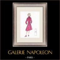Modezeichnung - Frankreich - Paris - 1950er/1960er 18/47