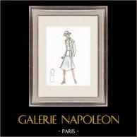 Mode Ritning - Frankrike - Paris - 1950/1960-Talet 20/47