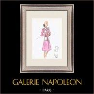Fashion Drawing - France - Paris - Years 1950/1960 21/47