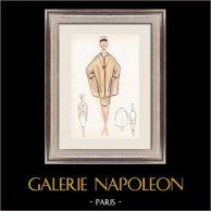 Modezeichnung - Frankreich - Paris - 1950er/1960er 22/47