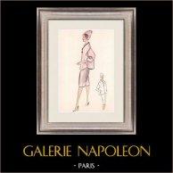 Fashion Drawing - France - Paris - Years 1950/1960 23/47