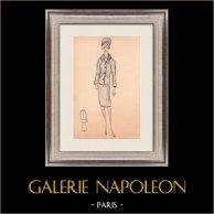 Modezeichnung - Frankreich - Paris - 1950er/1960er 24/47
