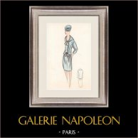 Modezeichnung - Frankreich - Paris - 1950er/1960er 25/47