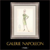 Fashion Drawing - France - Paris - Years 1950/1960 27/47