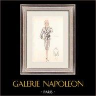 Fashion Drawing - France - Paris - Years 1950/1960 28/47