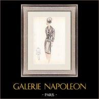Modezeichnung - Frankreich - Paris - 1950er/1960er 30/47
