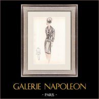 Fashion Drawing - France - Paris - Years 1950/1960 30/47