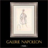 Modezeichnung - Frankreich - Paris - 1950er/1960er 31/47