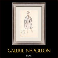Fashion Drawing - France - Paris - Years 1950/1960 31/47