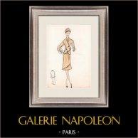 Modezeichnung - Frankreich - Paris - 1950er/1960er 35/47