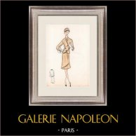 Fashion Drawing - France - Paris - Years 1950/1960 35/47